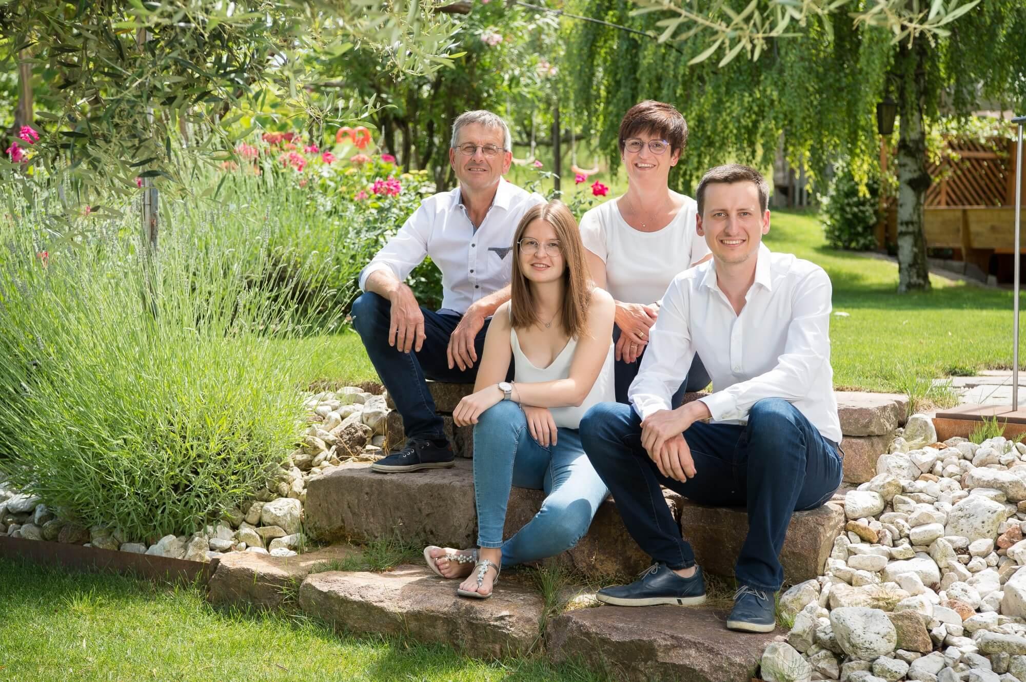 Familie Pillon vom Osannahöfl